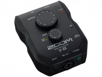 Портативзый USB аудиоинтерфейс Zoom U-22