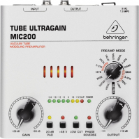 Микрофонный предусилитель Behringer MIC200 Tube Ultragain