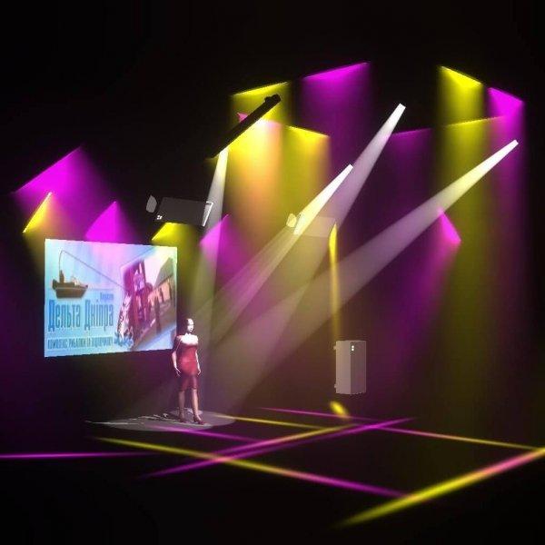 «Дельта Днепра» - новая инсталляция звука от Electro-voice и многое другое