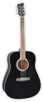 Электроакустическая гитара Jay Turser JJ45EQ BK