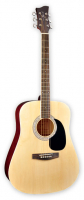 Электроакустическая гитара Jay Turser JJ45EQ N