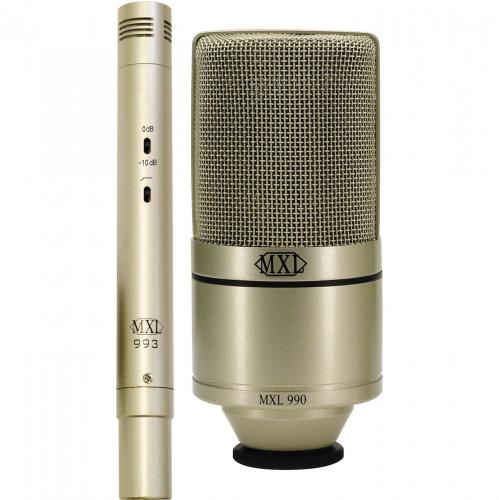 Студийный микрофон Marshall Electronics MXL 990/993