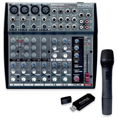 Микшерный пульт Phonic AM 440 D USB-K-1