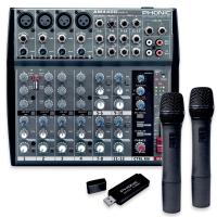 Микшерный пульт Phonic AM 440 D USB-K-2