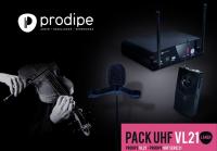 Инструментальная радиосистема Prodipe Pack UHF VL21 Violons & Altos