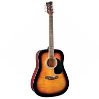 Акустическая гитара Jay Turser JJ45 PAK TSB