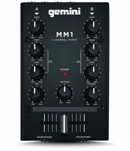 Микшерный пульт для DJ Gemini MM1