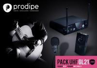 Инструментальная радиосистема Prodipe Pack UHF GL21 Acoustic Guitar & Ukulele