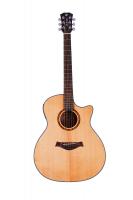 Электроакустическая гитара Alfabeto SOLID AMS40EQ NT