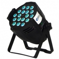 Free Color LED PAR 64 - P1810 RGBW