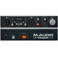 Аудио интерфейс M-AUDIO M-Track Plus II