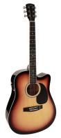 Электроакустическая гитара Nashville GSD-60-CESB