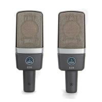 AKG C214 MATCHED PAIR стереопара из двух микрофонов