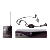 AKG Perception Wireless 45 Sports Set BD A радиосистема с головным микрофоном