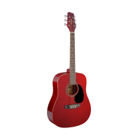 Акустическая гитара Stagg SA20D RED