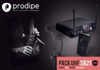 Инструментальная радиосистема Prodipe Pack UHF SB21 Sax & Brass Lanen