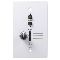 DBX ZC-8 настенный контроллер зоны