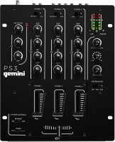 Gemini PS-3 Микшерный пульт для DJ