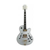 Джазовая полуакустическая гитара Stagg A300 WH