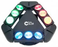 Светодиодный прибор FREE COLOR 3X3 SPIDER 910