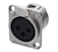 Разъем панельный XLR-F Seetronic K3F2C