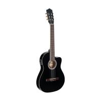 Классическая гитара с датчиком Stagg C546TCE BK