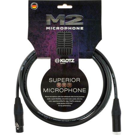 Микрофонный кабель KLOTZ M2FM1-0200
