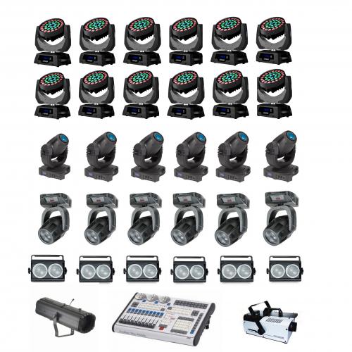 Аренда комплекта светового оборудования №11