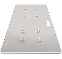 Пластина прямоугольная стальная оцинкованная 450х900мм