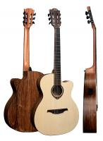 Классическая гитара со звукоснимателем Lag Tramontane TN270ACE