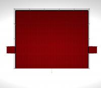 Сценический подиум стальной 10х8 высотой 1,7м