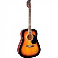 Акустическая гитара Jay Turser JJ45F TSB