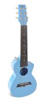 Электроакустическая тревел гитара (гитарлеле) Korala PUG-40E-LBU