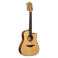Электроакустическая гитара LAG Tramontane T66D12CE