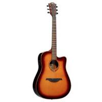 Электроакустическая гитара LAG Tramontane T100DCE-BRS