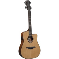 Электроакустическая гитара LAG Tramontane T200D12CE